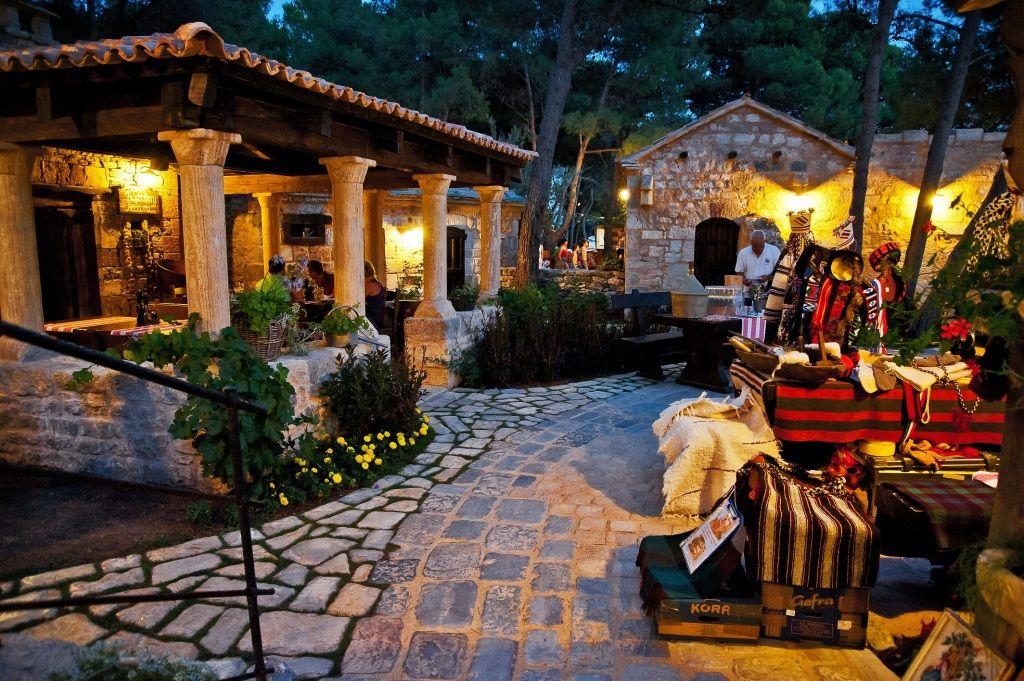 Restaurants in Šibenik dorpje