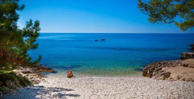 De stranden van Šibenik