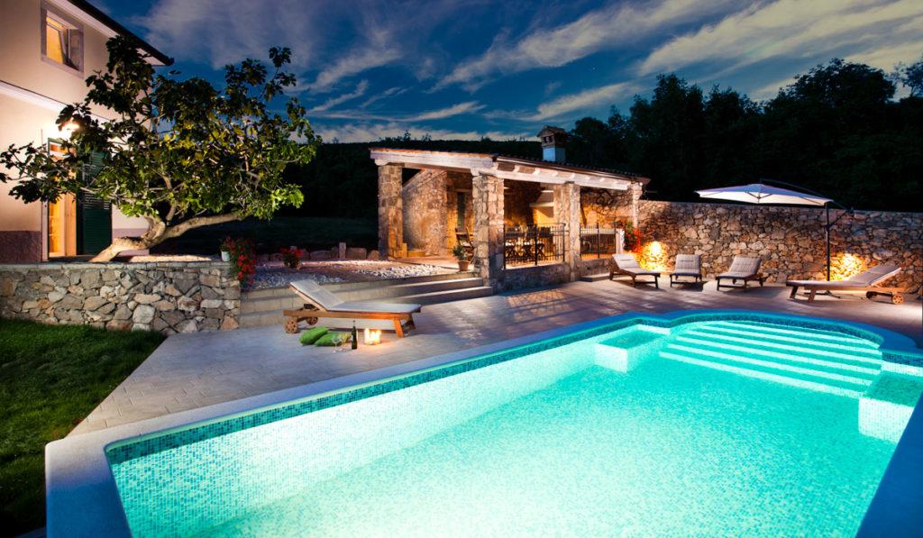 Een vakantiewoning ('villa') huren in Kroatië Vakantie in