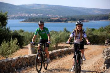 Een fietstocht over het eiland Krk