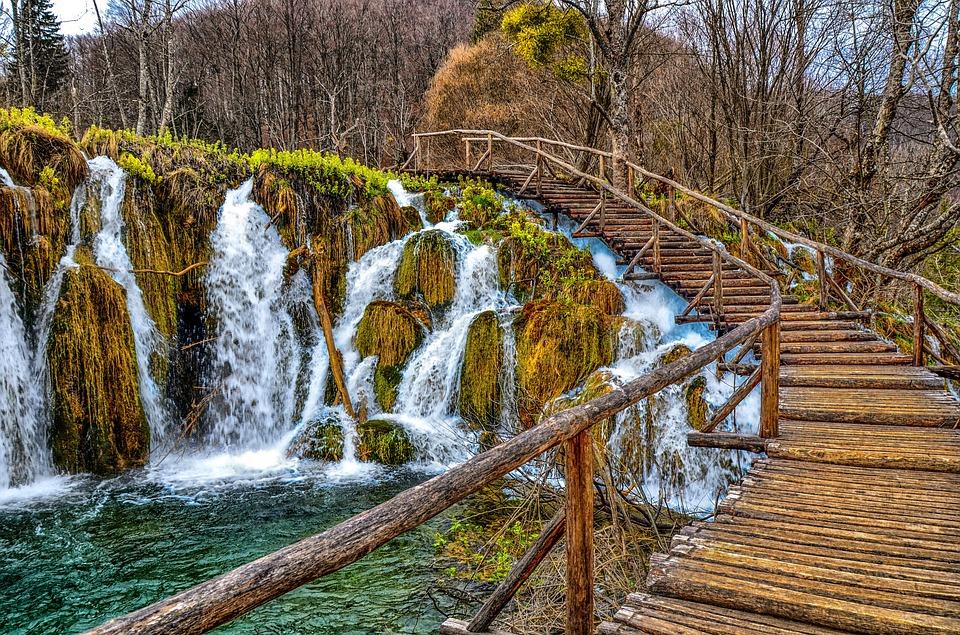 Plitvice meren in de winter