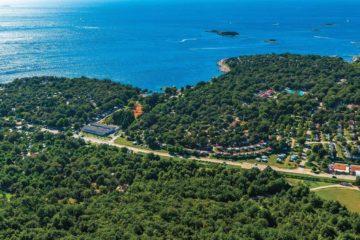 Camping Bijela Uvala uit de lucht