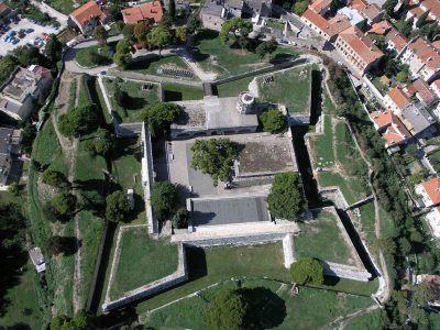 Het kasteel van Pula