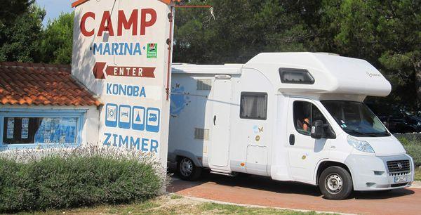 Camping Marina in Lozovac