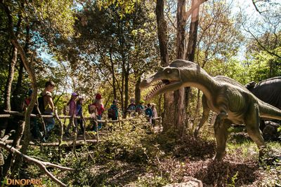Het Dinopark in Funtana