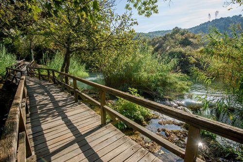 Wandelroutes Nationaal Park Krka