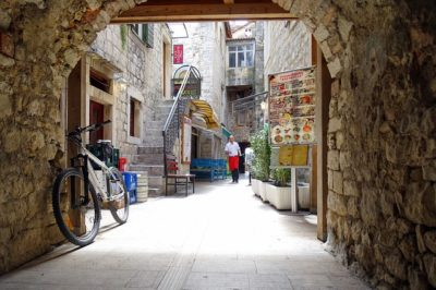 Het centrum van Trogir
