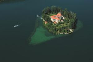 Visovac eiland Krka