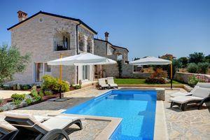Vakantiehuis met zwembad in Rovinj