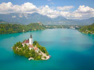 Het sprookjesachtige Bled in Slovenië