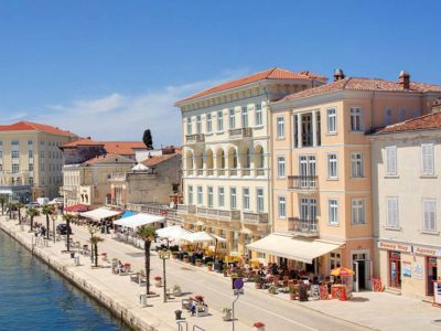 Adults only hotel Riviera in Porec
