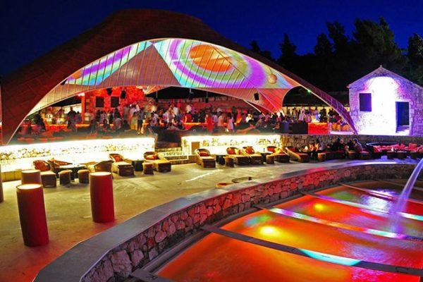Nachtclub Veneranda in Hvar, uitgaan