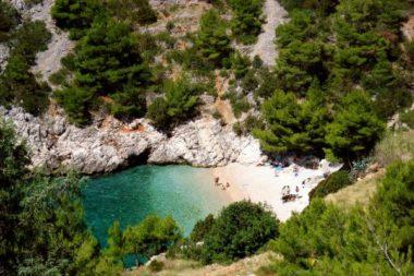 Het lucisce strand op Hvar